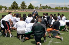 A HEART TO HEART TALK Rancho Rams Head Coach Armstrong Building a Team