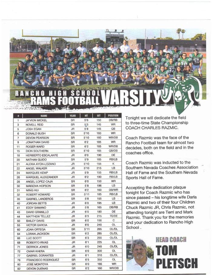 Rams Varsity 2015 edit